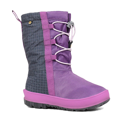 Сапоги детские Bogs Snownights Purple Multi