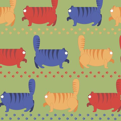 марш толстых котов