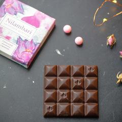 Шоколад Nilambari горький с ванилью