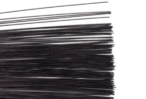 Проволока глянцевая в обмотке, цвет Чрный, 1мм.