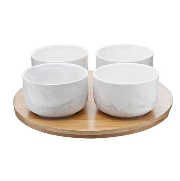 Сервизы чайные Набор чаш на подставке Roomers Marble Grey nabor-chash-na-podstavke-roomers-marble-grey-niderlandy.jpg