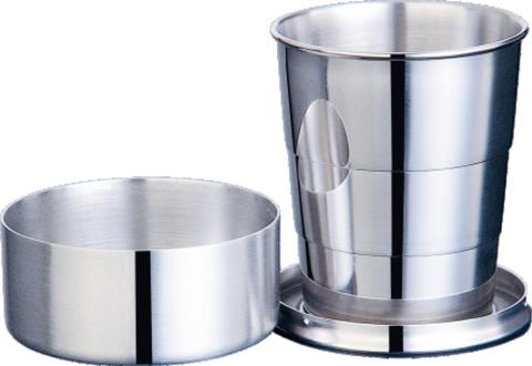 Металлический раскладной стаканчик 150 мл S.Quire LY-BE2