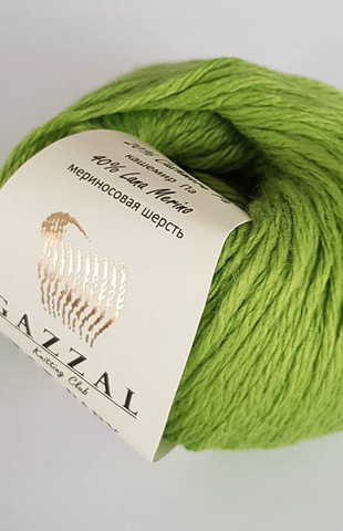 Пряжа Gazzal Baby Wool XL оливковый 838
