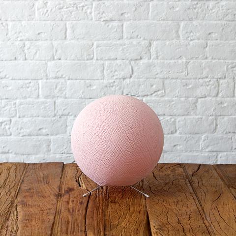 Большой хлопковый светильник Нежно-розовый
