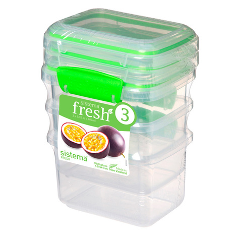 Набор контейнеров Fresh (3 шт.), 400  мл