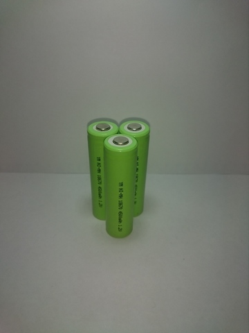 Аккумулятор 18670  Ni-Mh 4500mAh 1,2V 5,4Wh