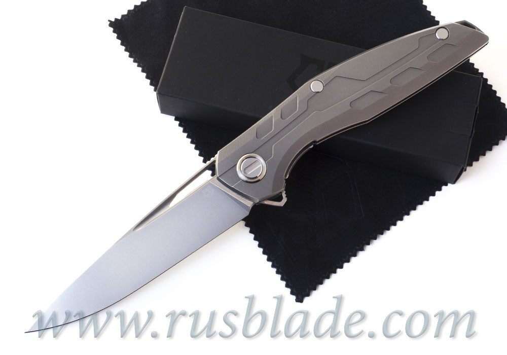 CUSTOM Shirogorov 111 Ti KNIFE S90V SRRBS