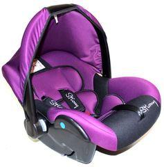 Автолюлька_321-Lux фиолетовый