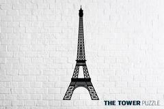 Деревянный интерьерный пазл EWA Эйфелева башня