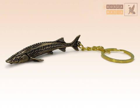 брелок Рыба Стерлядь