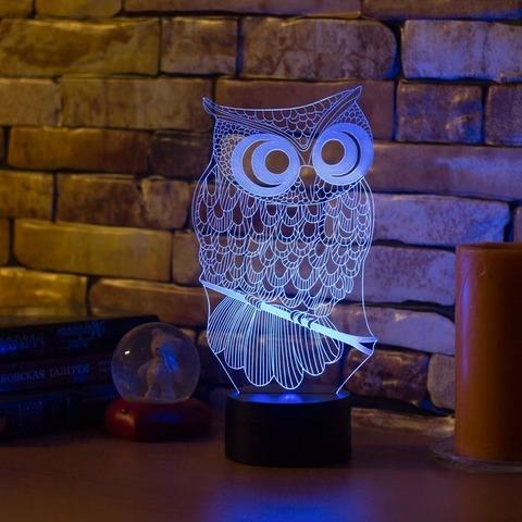 Лампа Сова