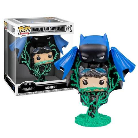 Фигурка Funko POP! Vinyl: Comic Moment: DC: Batman and Catwoman Vines (Exc) 42985