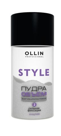 OLLIN STYLE Пудра для прикорневого объёма волос сильной фиксации 10г/ Strong Hold Powder