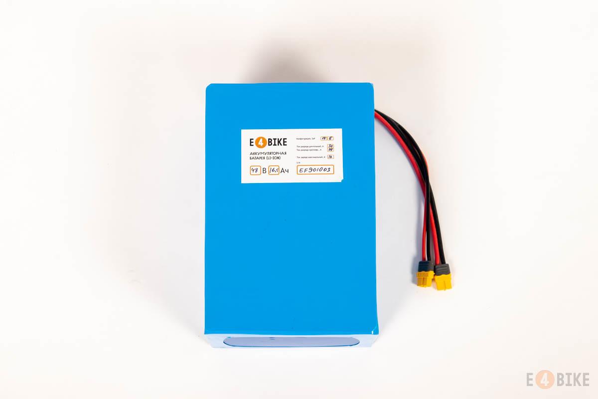 Аккумуляторная батарея LiFePO4 48 В 16.5 Ач (760 Втч)