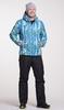 Утеплённый прогулочный лыжный костюм Nordski City Blue-Lime-Black мужской