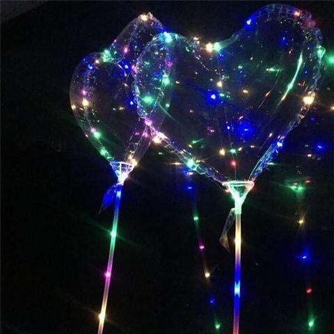 Надувной светящийся шар Сердце