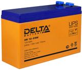Аккумулятор Delta HR 12-24 W ( 12V 6Ah / 12В 6Ач ) - фотография