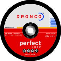 Шлифовальный диск Dronco A30T 125х6