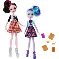 Набор кукол Дракулаура и Твайла - Школьный дух, Mattel