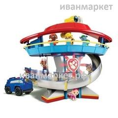 Патрулелет-Патрулевоз-База-Набор щенков на машинах.