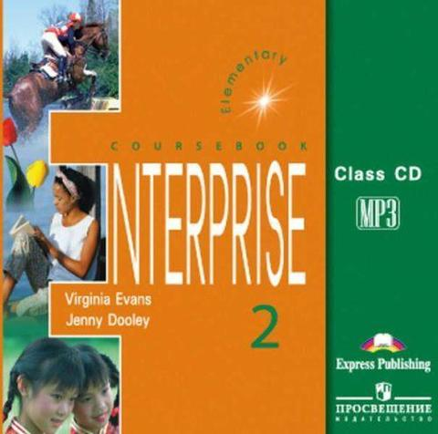 enterprise 2 class cd (1 mp3 CD)