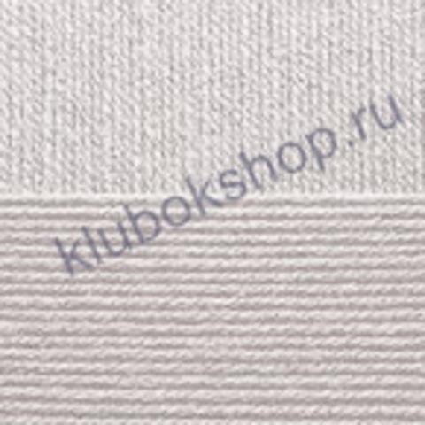Пряжа Бисерная 08 светло-серый (Пехорка)