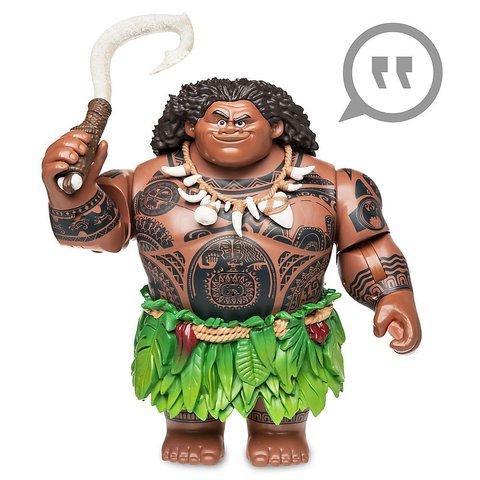 Говорящая Игрушка Мауи (Maui) со Светящимся Крюком 31 см - Moana, Disney