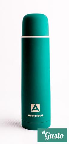 Термос «Арктика» с узким горлом, зеленый 750 мл