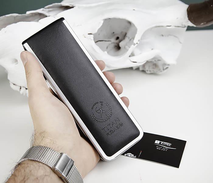 RAZ443-1 Подарочная бритва TITAN для лезвий GILLETTE FUSION фото 11