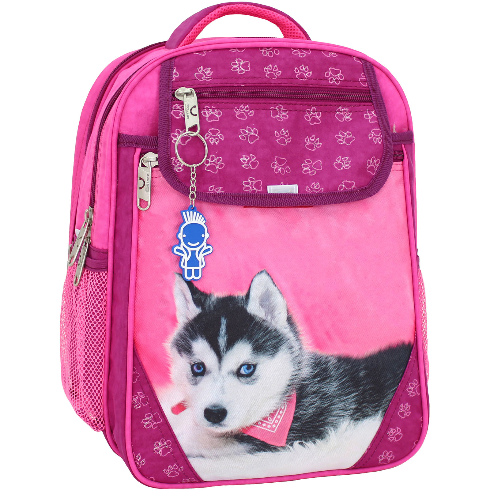 Школьные рюкзаки Рюкзак школьный Bagland Отличник 20 л. 143 малина 141 д (0058070) IMG_7327.JPG