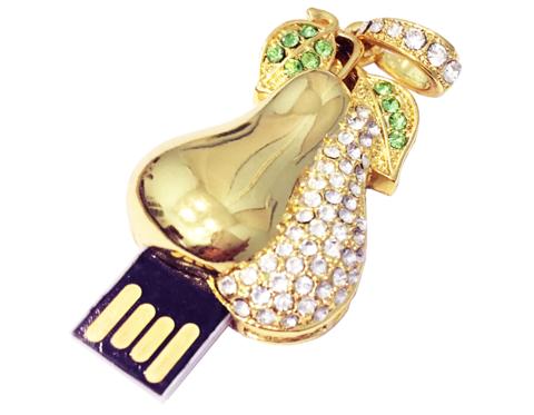 usb-флешка груша ювелирная