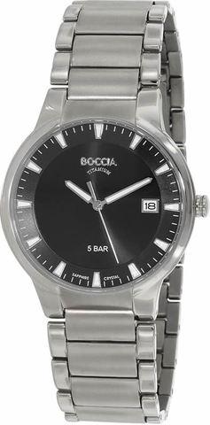 Купить Мужские наручные часы Boccia Titanium 3576-01 по доступной цене