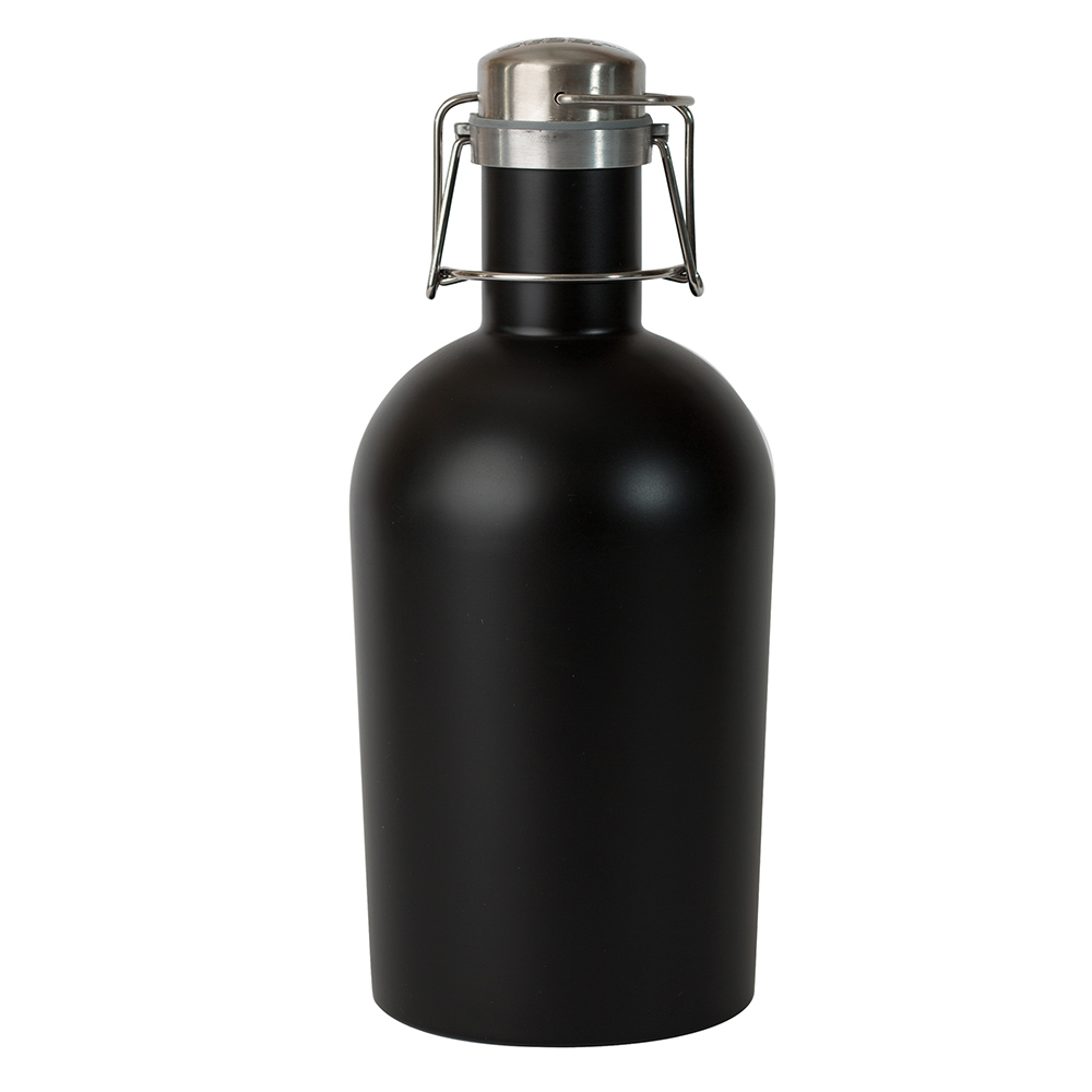 Гроулер для пива Asobu Beer growler (1,9 литра) черный