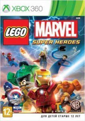 Xbox 360 LEGO Marvel Super Heroes (русские субтитры)