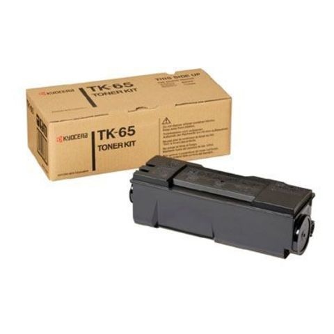 Kyocera TK-65 - тонер-картридж для принтеров Kyocera FS-3820N, FS-3830N. Ресурс 20000 страниц.