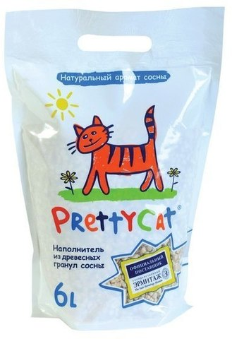 PRETTY CAT WOOD GRANULES