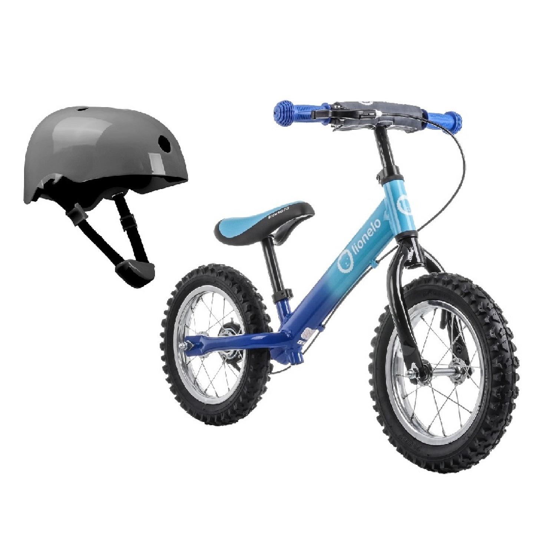 Беговел Lionelo LO-DEX PLUS Blue со шлемом безопасности
