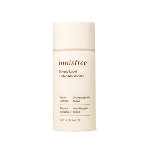 База innisfree Simple Label Tinted Moisturizer 40ml