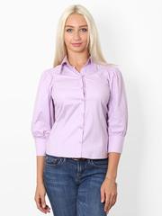 7088-4 рубашка женская, сиреневая