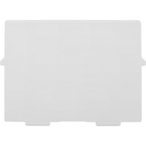 Картотека пластиковый разделитель для картотеки А4, 2 шт/уп.54540D