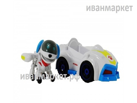 Робопёс с машинкой и рюкзаком (Супер Миссия)