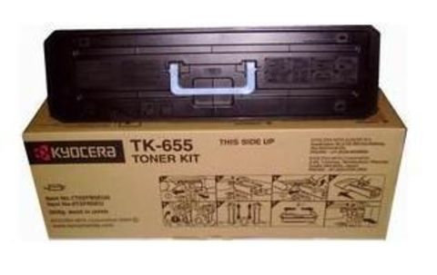 Kyocera TK-655 - тонер-картридж для принтеров Kyocera KM-6030, KM-8030. Ресурс 47000 страниц.