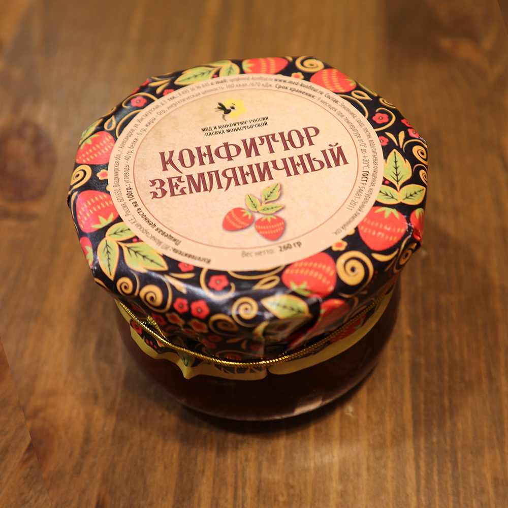 Купить конфитюр земляничный в Перми