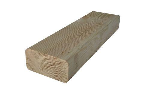 Брусок для скамейки из массива сосны 60x40 мм.