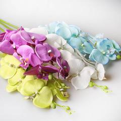 Орхидея 90см белая,  9131