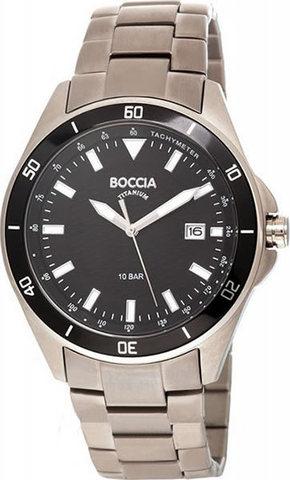 Купить Мужские наручные часы Boccia Titanium 3577-01 по доступной цене