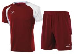 Мужская волейбольная форма Mizuno Trade (59RM352M-59HV351M 62) красная