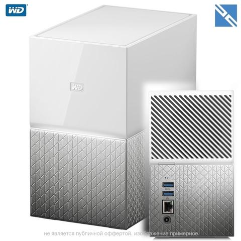 Сетевой накопитель Western Digital WD My Cloud Home Duo 20TB 2-Bay Personal Cloud NAS Server (2 x 10TB)