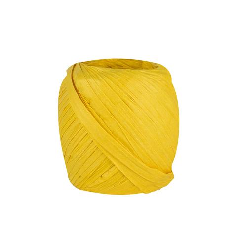 Лента для подарков 20 м Yellow