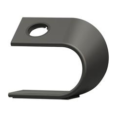 Подставка для часов Nomad Stand Space для Apple Watch алюминий, сталь. Cерый космос